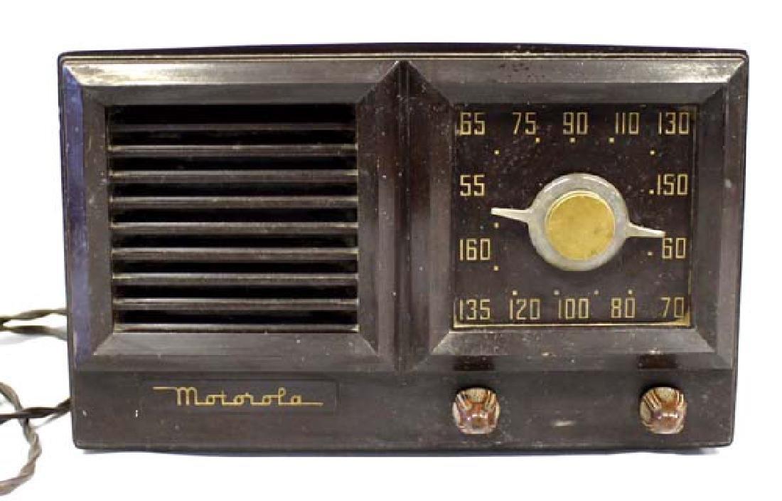 Vintage Motorola Radio Model 58G1