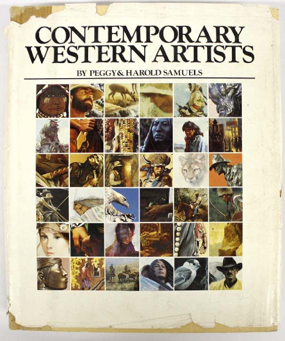 Contemporary Western Artists by P. & H. Samuels