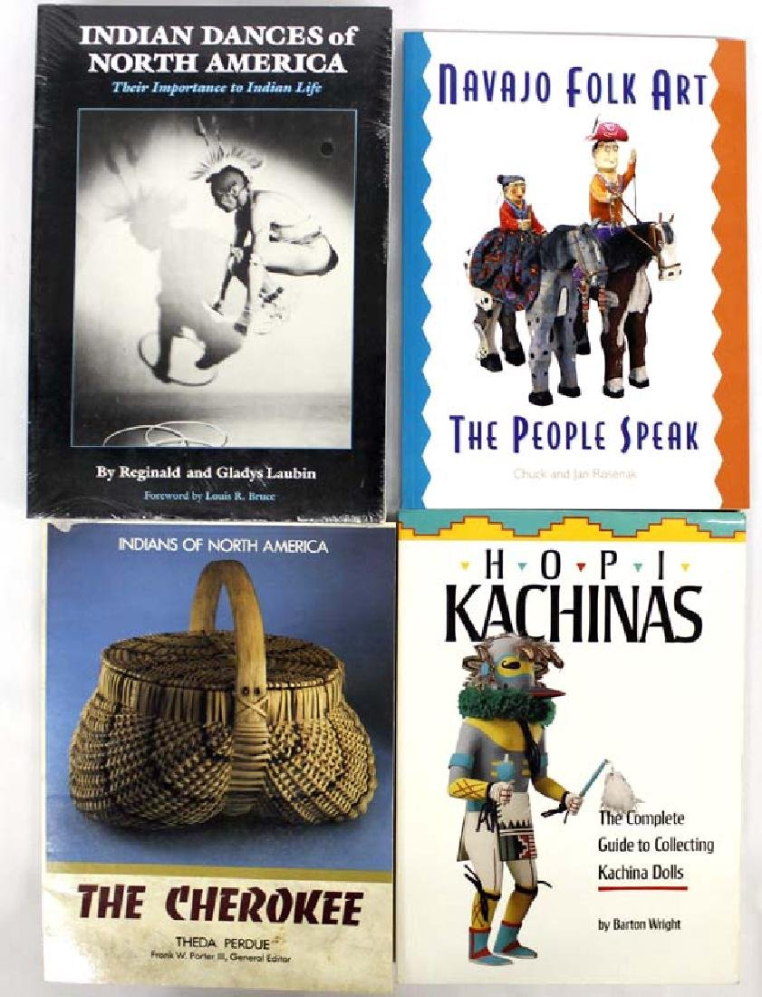 4 Reference Books, Native American Interest