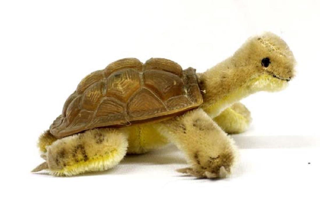 Original Steiff Stuffed Turtle