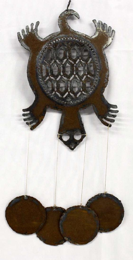 Metal Art Turtle Wind Chime
