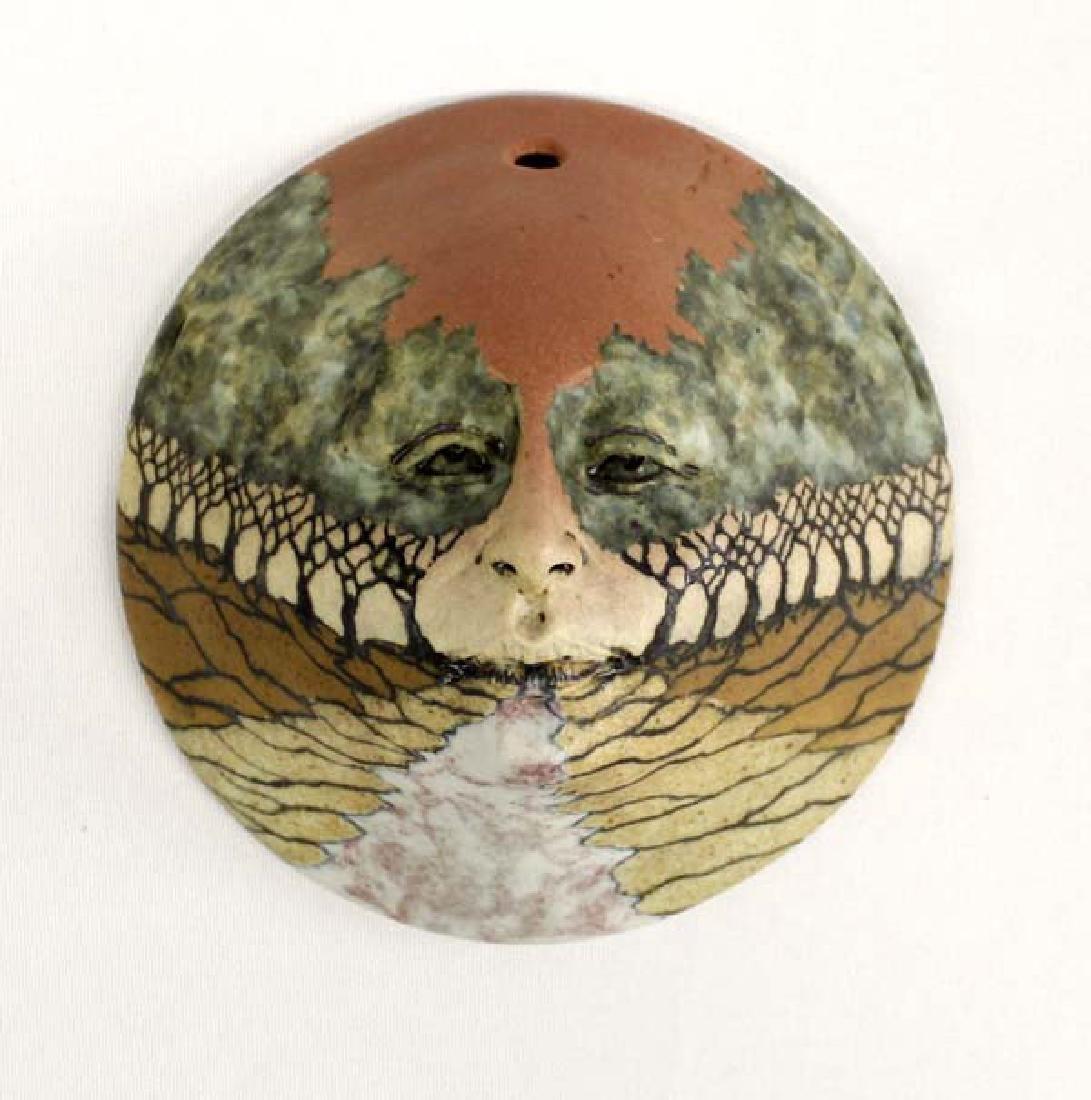 2001 Michael Barnes Ceramic Mask