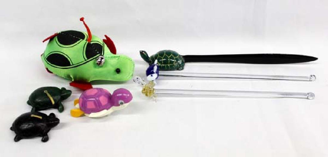 6 Turtle Collectibles