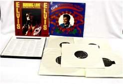 Collection of Elvis Presley Albums