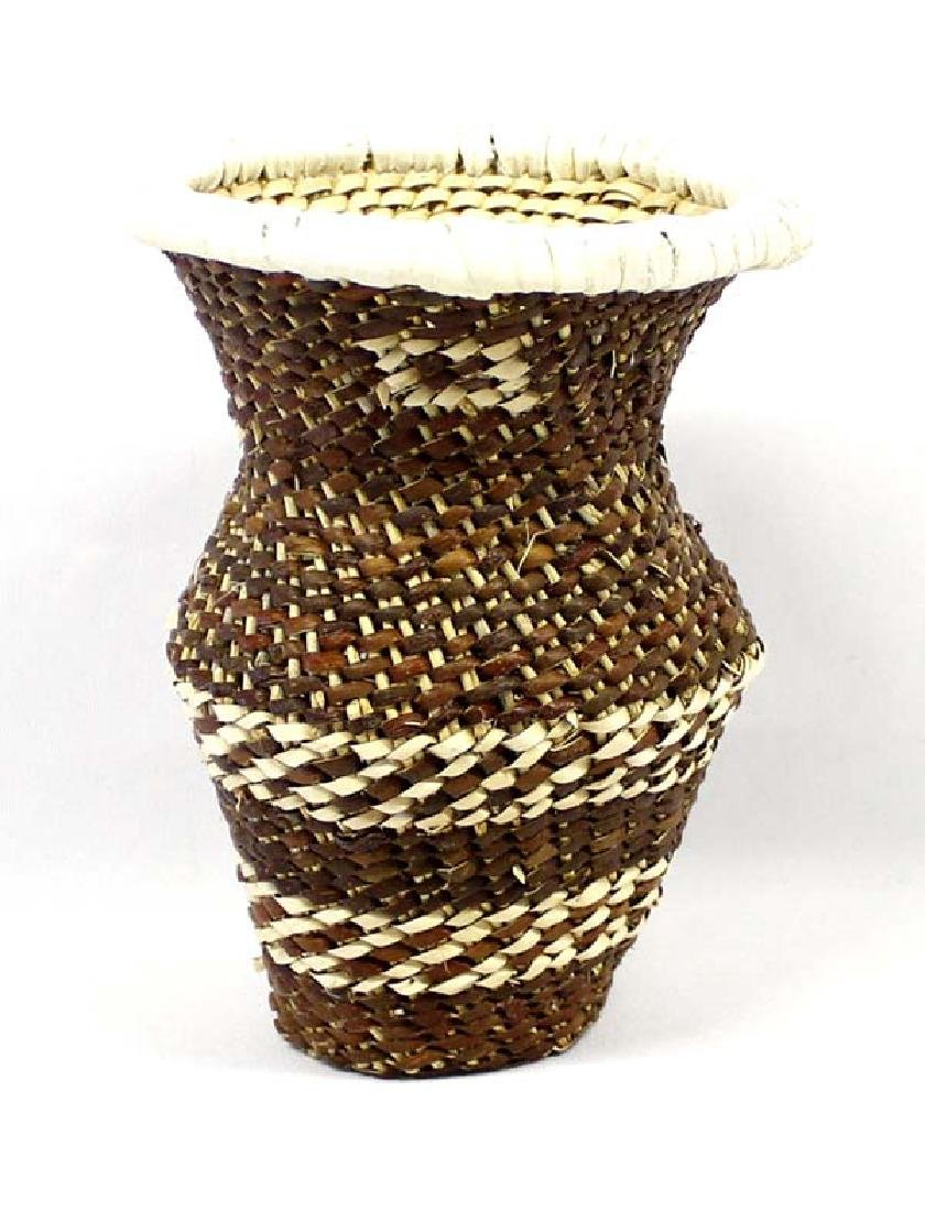 Apache Vase Basket by Irwin & Evelyn Rope