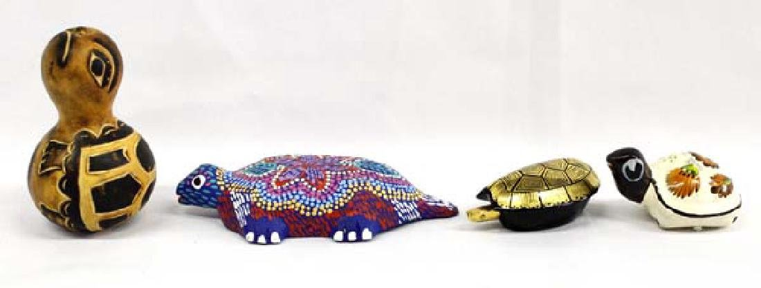 4 Turtle Collectibles