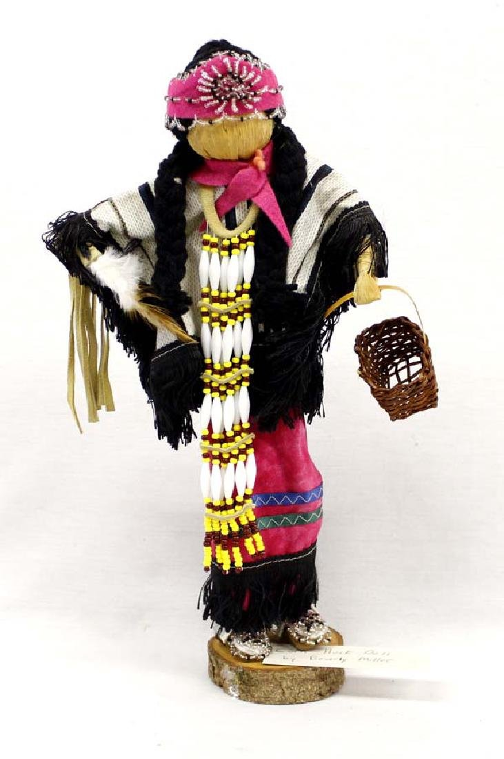 Mohawk Corn Husk Doll by Beverly Doxtater Miller
