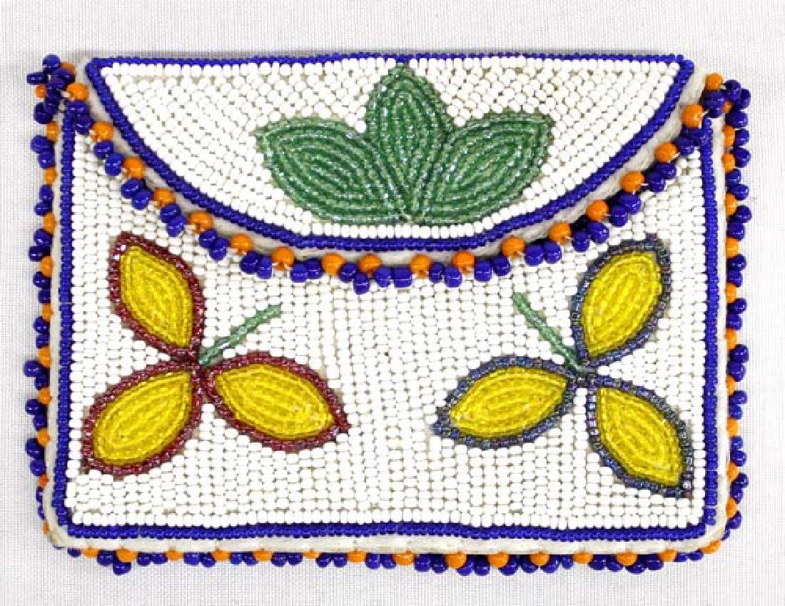 Native American Sioux Beaded Possible Pouch