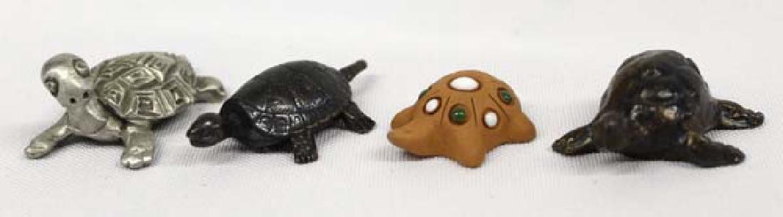 4 Estate Turtle Collectibles