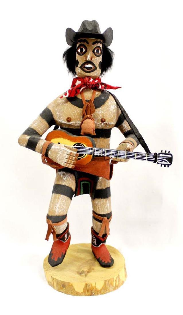 Navajo Koshare Hano Clown Kachina by Felix Begay