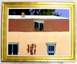 Large Original Painting ''Eight Pots'' by W C Hook