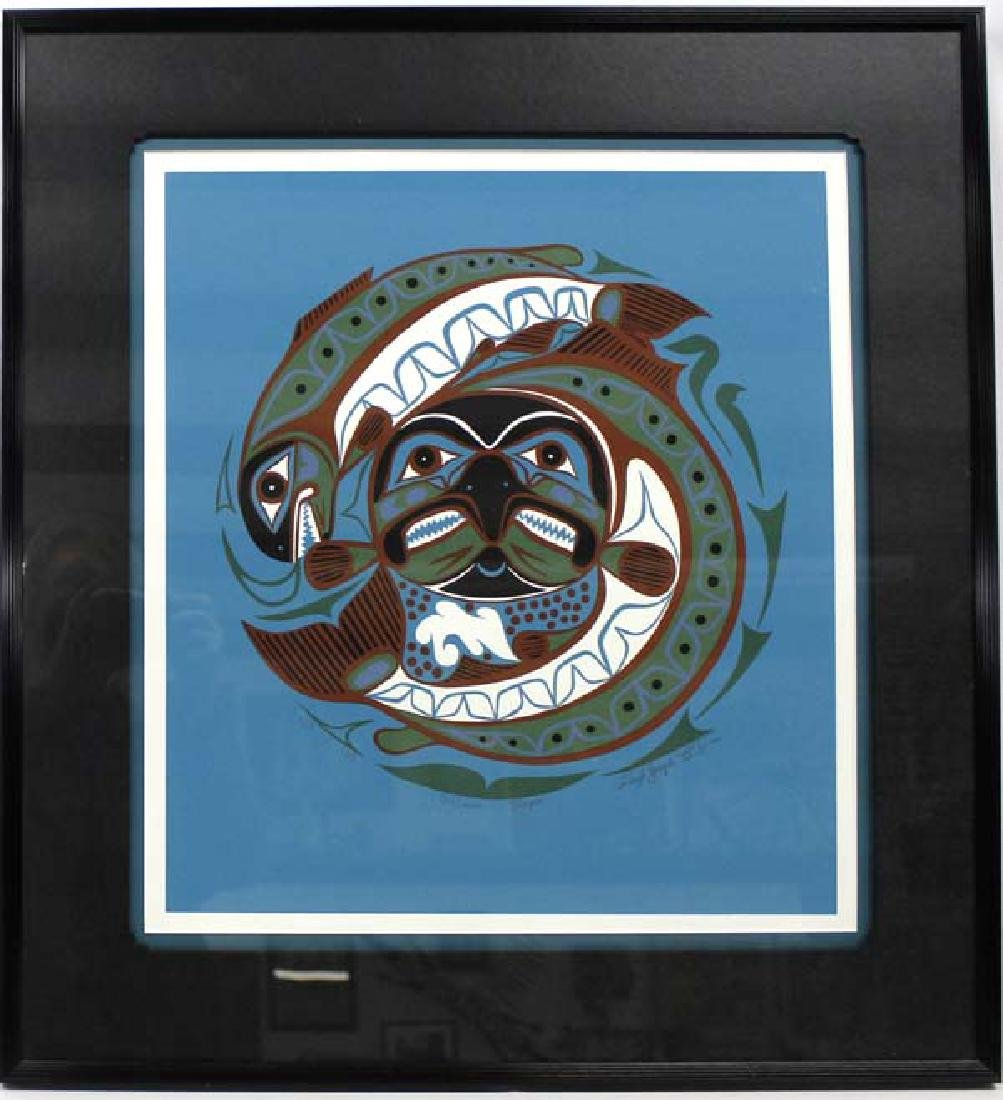 Northwest Coast Limited Ed. Print by Floyd Joseph
