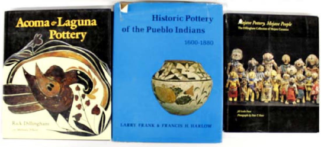 3 Reference Books on Native American Pottery
