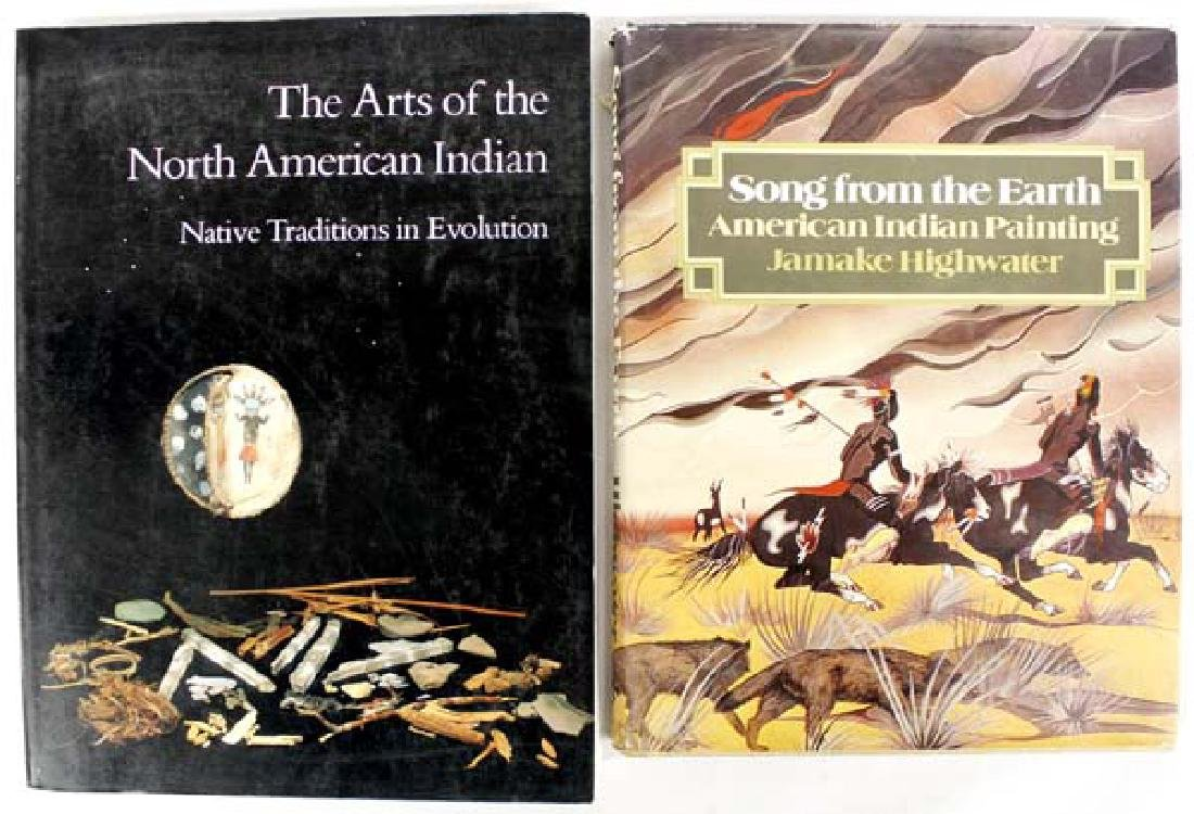 2 Reference Books, Native American Interest