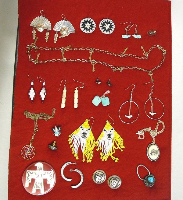 1020: Collection 15 Plus Native American Jewelry Pieces