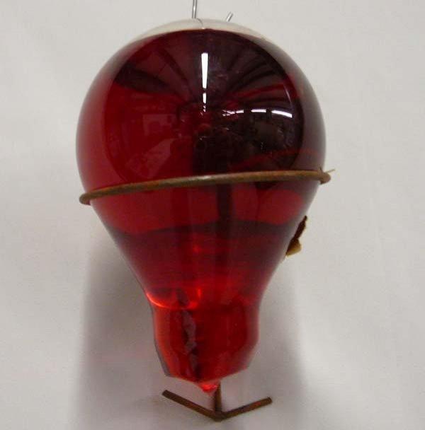 1062: Antique Spot Automatic Glass Fire Grenade - 3