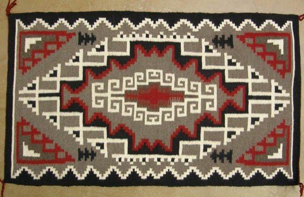 1233: Fine Navajo Ganado Red Weaving Rug