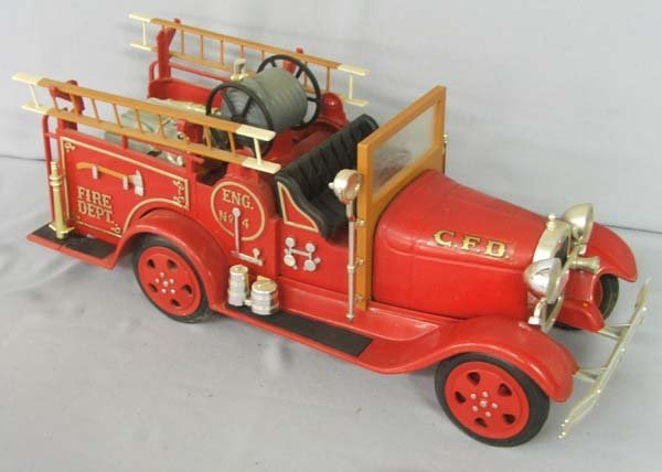 1501A: C.F.D. Collector Fire Truck Decanter
