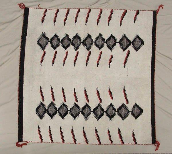 1504: Vintage Navajo Rug 33'' x 40''