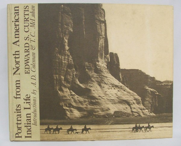 1505: Hardback Book 'N. Am. Indian Life' by E. Curtis