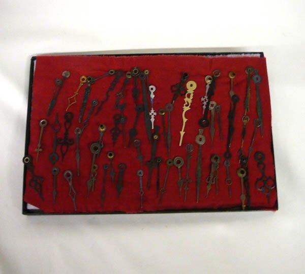 1508: 50 Plus Vintage Clock Hands 4''
