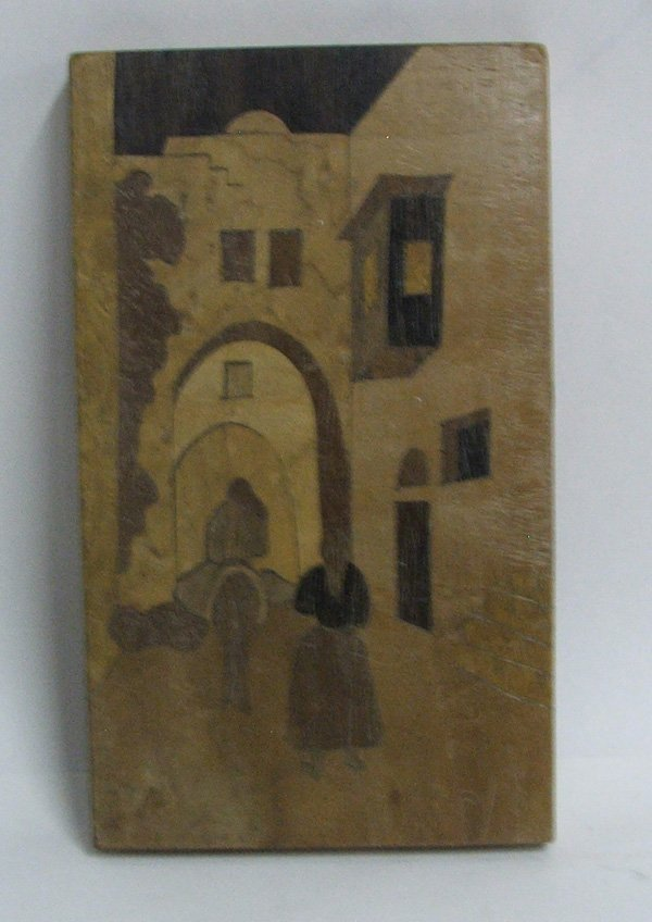 1010: Inlay Marquetry Picture 5.5''