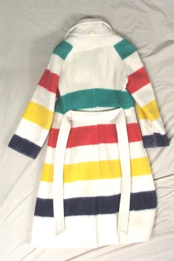 1073: Vintage Hudson Bay Coat Size 8 - 2