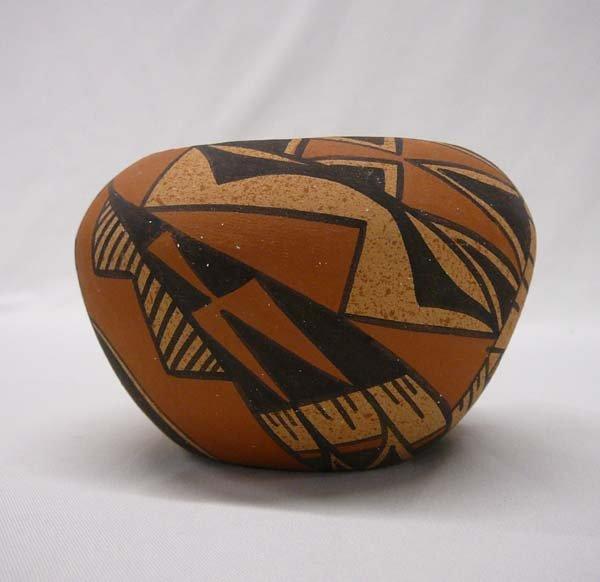 1002: Jemez Pottery Bowl by Chinana 3''x5''