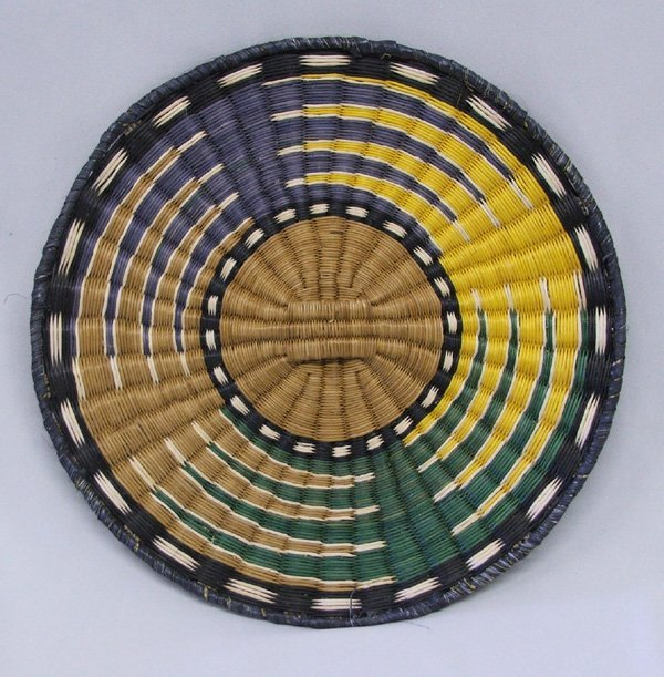 1199A: Hopi Wicker Basket 10'' Diameter