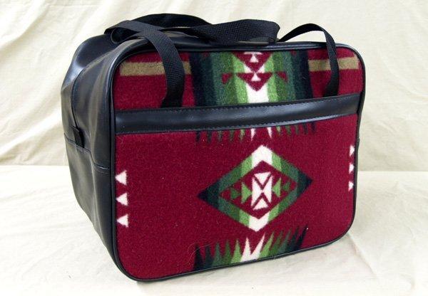 "1015A: New Pendelton Blanket Tote Bag 12x14x9"""