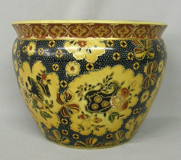 1000: Fine Porcelain China Bowl signed  6''x 8''