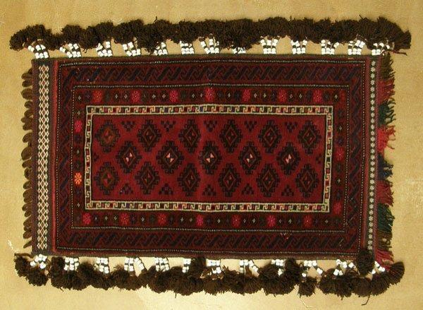 1344: Asian Wool Camel Storage  Draping/Bag 24''x42'