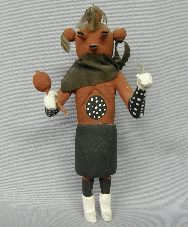 1003: Hopi Vintage Mudhead Kachina 7.5''x3''x3''