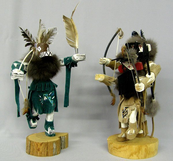 Pr  Kachina Dolls  12'' High