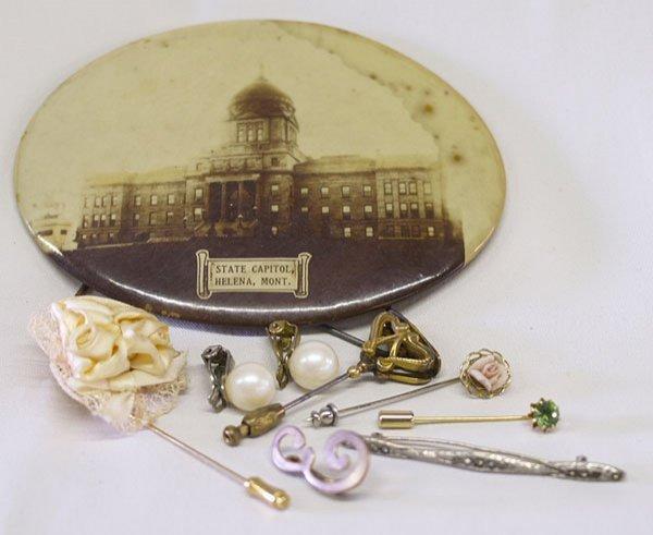 7pc  Estate Jewelry plus  Helena Montana  Vintage Photo
