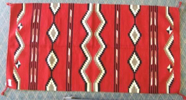 El Paso Saddle Blanket Co. Wool Rug/Blanket 32x64''