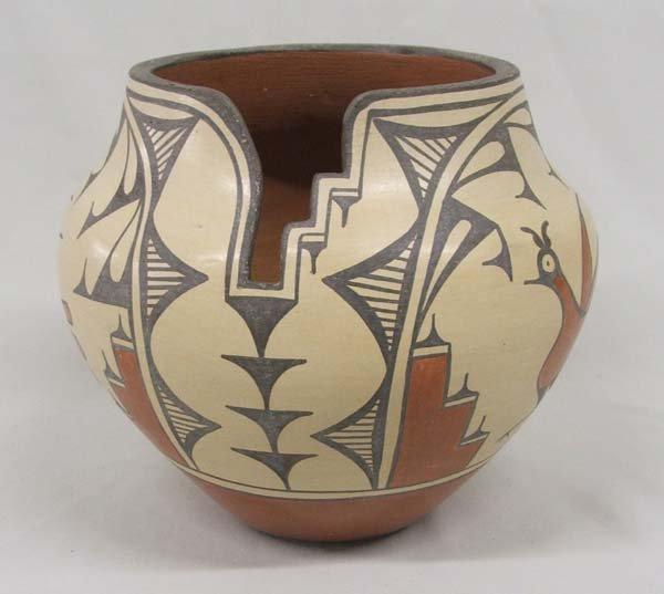 Historic  Zia Pueblo Pottery By Medina 8.25