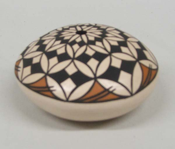 Acoma Seed Pot By Marcella Augustine 1 3/4'' x 3''