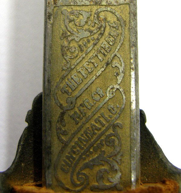 Antique FGB Knights Of Pythias Sword 33'' - 6