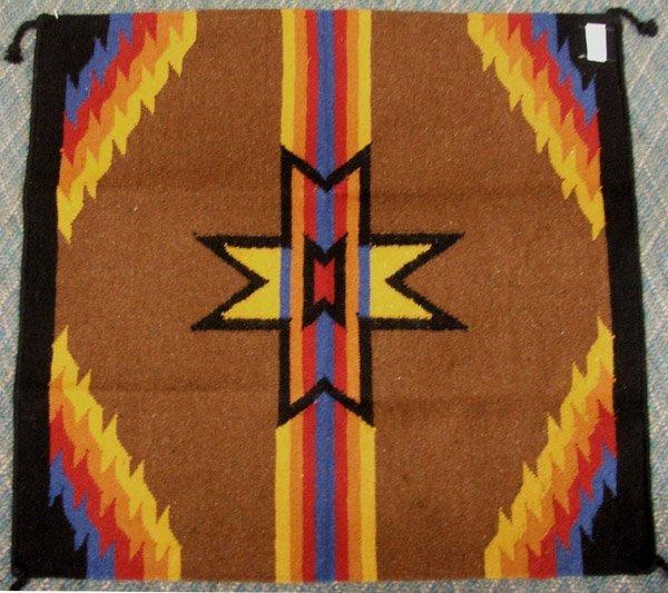 Southwestern Wool Rug 36'' x 34''