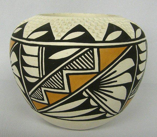 Acoma Pottery Jar by E. Antonio