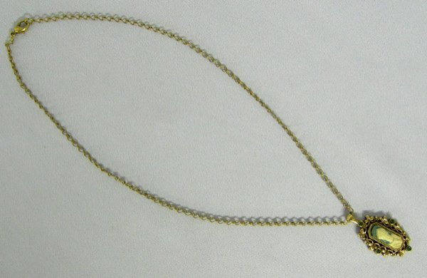 1015: St Patrick Cameo Vatican Jewelry