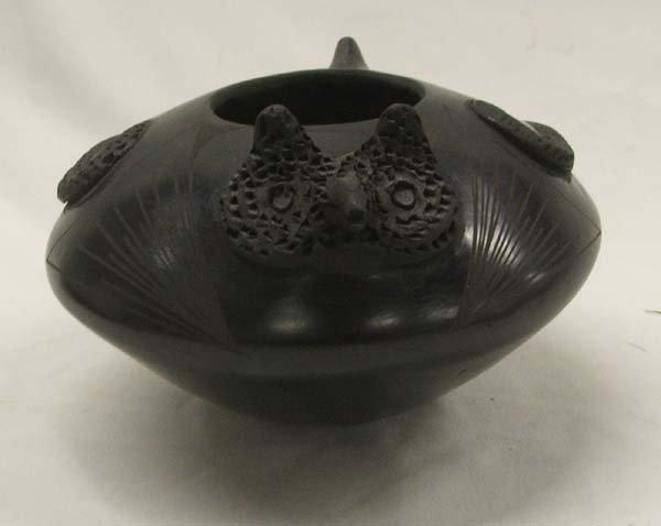Mata Ortiz Owl Effigy Pottery by Quezada