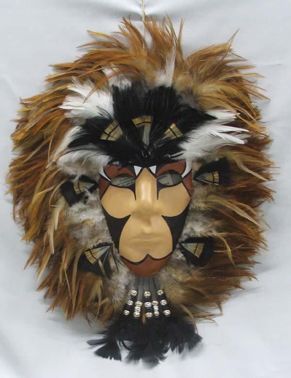 Native American Medicine Mask By Adamson