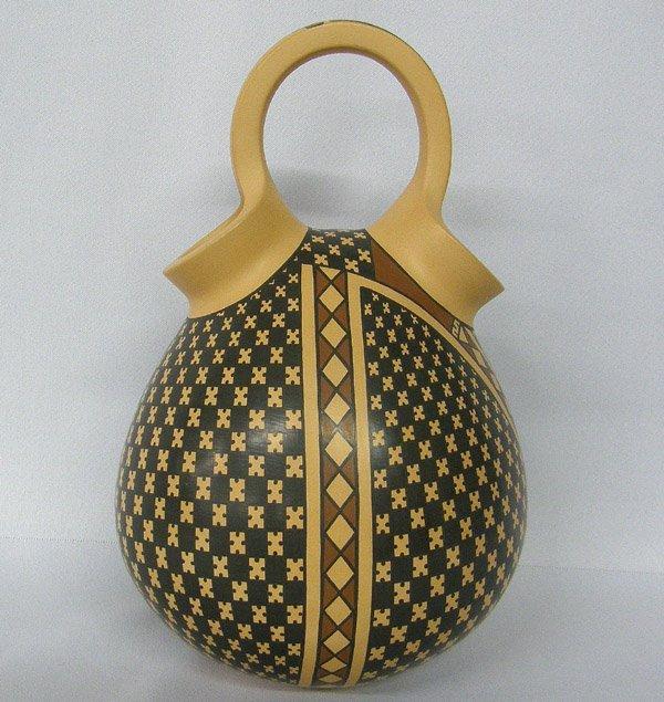 Mata Ortiz Wedding Vase by Gerado L Voloz