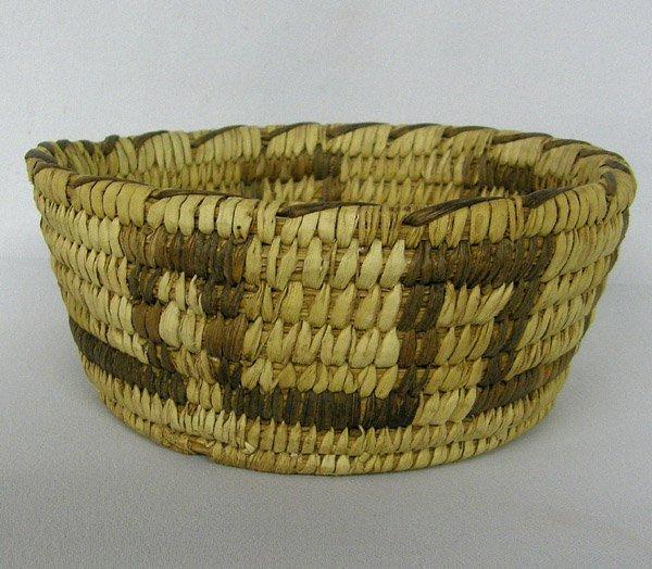 Vintage Papago 2 Tone Basket