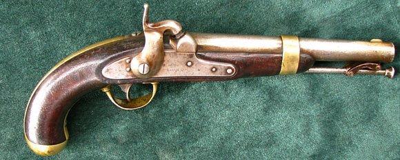 Original 1846  Henry Aston Military Pistol