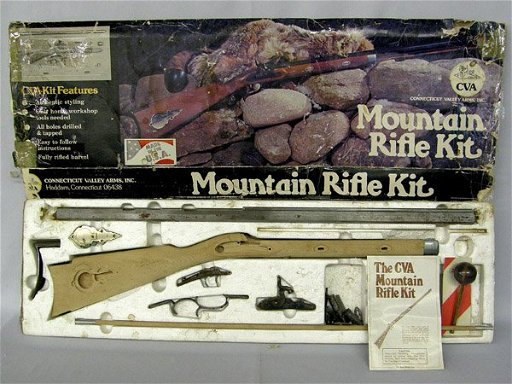 CVA Hawken Mountain Rifle Kit