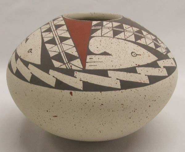 Mata Ortiz Seed Jar By Chavez