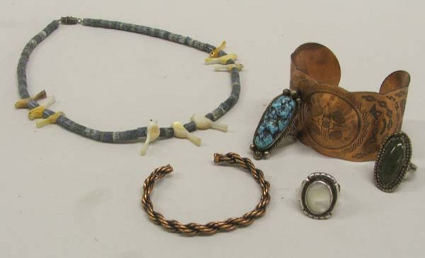6 New Mexico Native American Jewelry